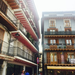 Typical balconies